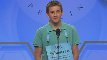 Maine student has strong showing at his first Scripps National Spelling Bee