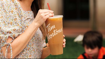 Tim Hortons debuts 'Mom-Sized' Iced Coffee
