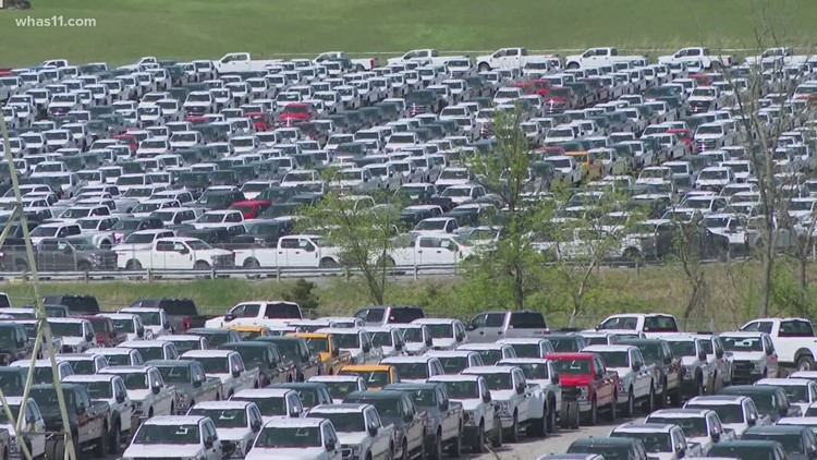 Thousands of new Ford trucks sit unsold waiting for a very small part