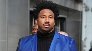 Cleveland Browns defensive end Myles Garrett to ESPN: Mason Rudolph called me a 'stupid N-word'