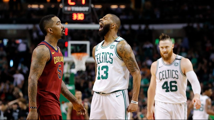 The Cleveland Cavaliers fell to the Boston Celtics, 108-83, in Game 1 of the 2018 NBA Eastern Conference Finals at TD Garden in Boston Sunday.