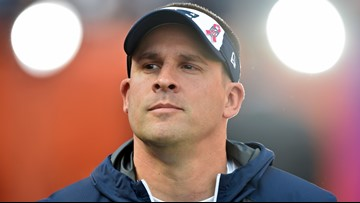 Watch: Josh McDaniels and wife, Laura, arrive for Cleveland Browns interview