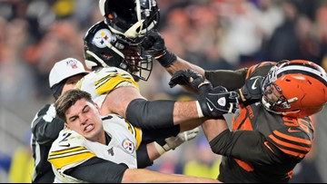 Browns' Myles Garrett suspended for at least remainder of 2019 season