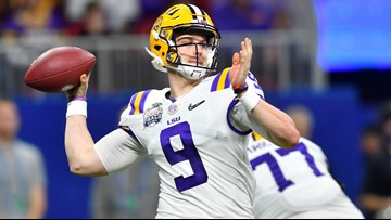 Watch: Joe Burrow celebrates LSU National Championship by smoking a cigar