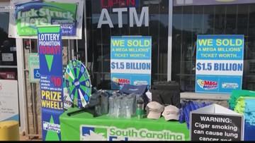 Winner claims $1.5 billion Mega Millions jackpot in S.C.
