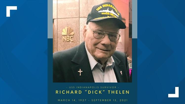 USS Indianapolis survivor dies at age 94