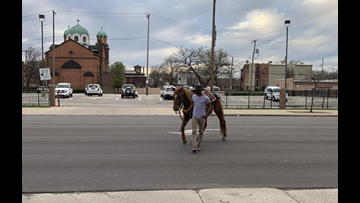 Brothers bring horsepower to Taco Bell Drive-Thru