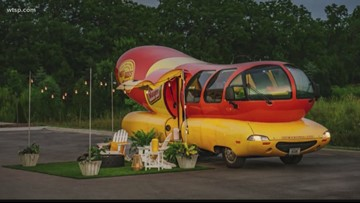 Airbnb offering stays in the Oscar Mayer Wienermobile