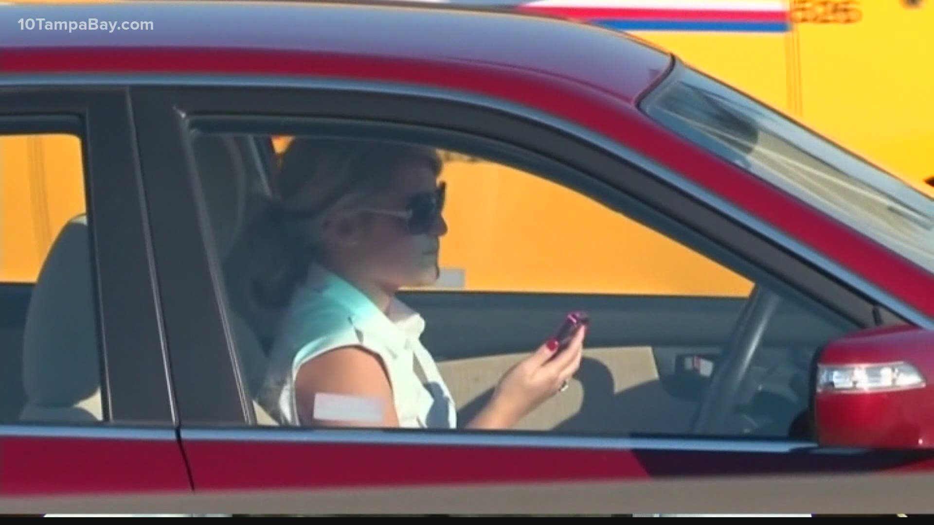 October is Distracted Driving Awareness month and AAA wants you to stop driving 'intexticated'