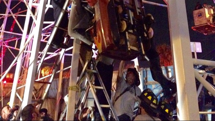 A Daytona Beach roller coaster passed an inspection. Then, it derailed and two riders fell 34 feet.