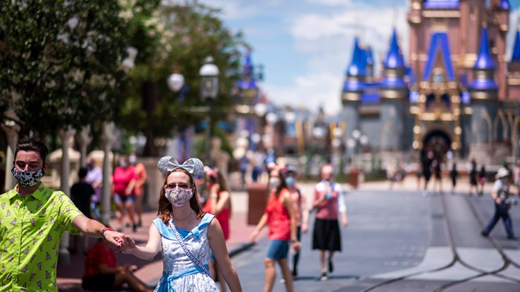 Masks are no longer required for vaccinated guests at Disney World