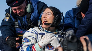 After a year in space, Christina Koch reunited with her dog. The video will melt your heart.