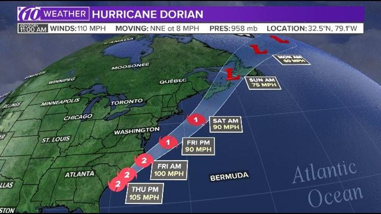 Live blog: Hurricane Dorian makes landfall in North Carolina
