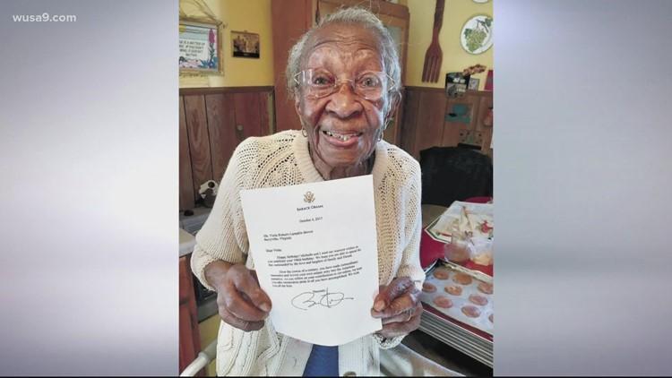 'I feel good!'   Virginia resident turns 110 years old