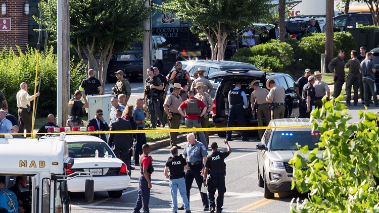 Capital Gazette shooter barricaded door in 'targeted attack' at newspaper's office