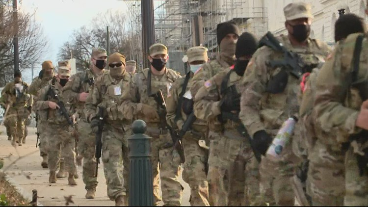 U.S. Capitol Police requests 60-day extension of National Guard troops in DC