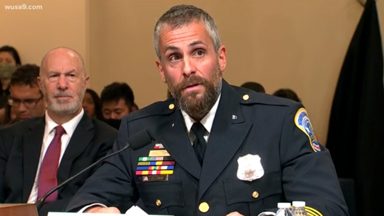 Threatening voicemail left for officer while testifying about Capitol riot, FBI investigating