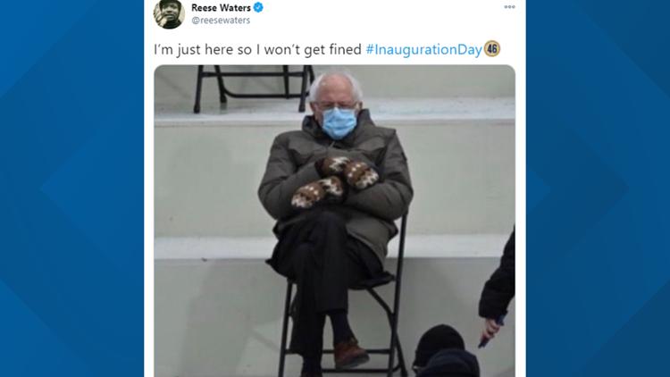 Bernie Sanders meme goes viral