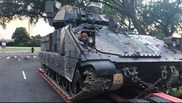 Don't panic: Army warns residents armored vehicles will roll through D.C.
