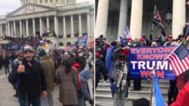 '1776 Part 2' | Former Marine, sheriff's lieutenant charged in Capitol riot
