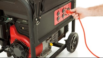 Staying safe when using a generator during a powerful storm