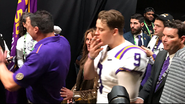 Report: Officer threatened to arrest LSU players for smoking cigars in the lockerroom