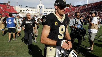 Reports: Drew Brees to have thumb surgery, out for 6 weeks
