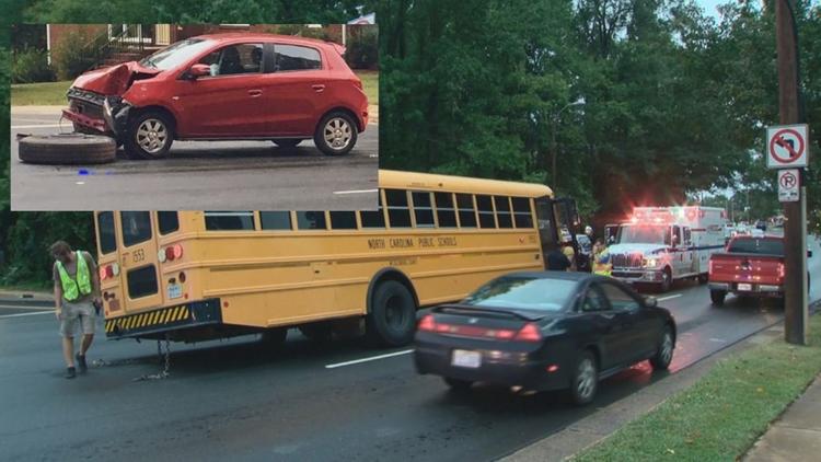 North Carolina Bus Tire Crash
