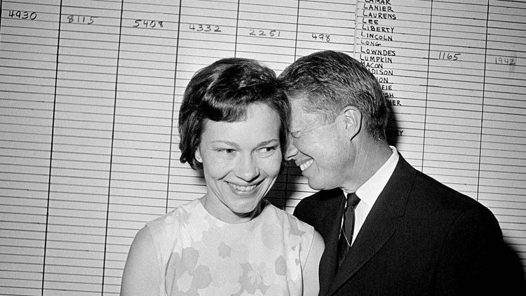A presidential love story   Jimmy & Rosalynn Carter's love through the years