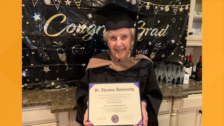 'I was nearly in tears'   91-year-old Atlanta woman earns master's degree