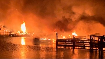 'We woke up hearing screams': 8 confirmed deaths in Alabama dock fire