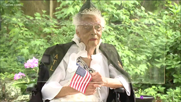 Community celebrates 100th birthday honoring the only living Tuskegee Airmen nurse
