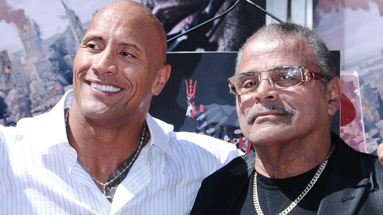 Dwayne Johnson Hand And Footprint Ceremony