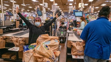Tyler Perry buys groceries for seniors and high-risk shoppers at more than 40 Atlanta area Kroger stores