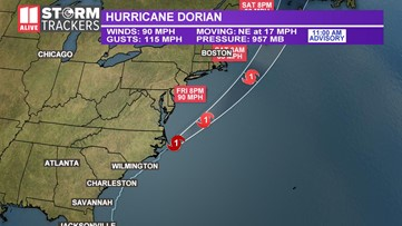 Hurricane Dorian right now   Latest updates on the deadly